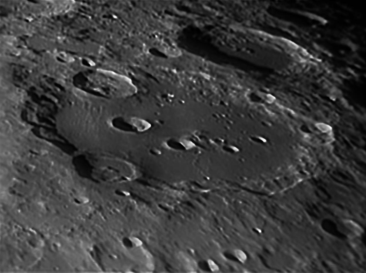 Lune - cratère Clavius